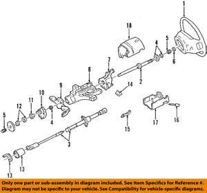 ford oem steering column bearing f4dz3517b 720163074419 | ebay
