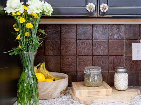 unique backsplashes for kitchen unique kitchen backsplashes pictures ideas from hgtv hgtv