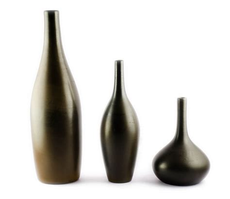 Decorative Black Vases Items Similar To Terracotta Flower Vases Black Vases