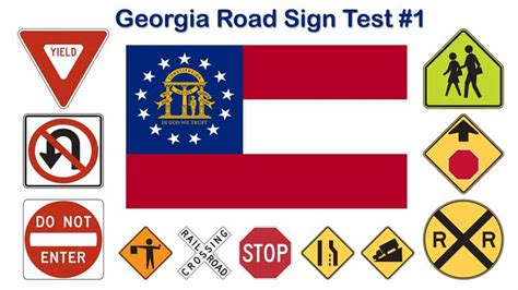 printable road sign test common street signage clipart best