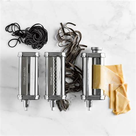 Kitchenaid 3 Pasta Roller Cutter Set kitchenaid 174 3 pasta roller cutter set williams