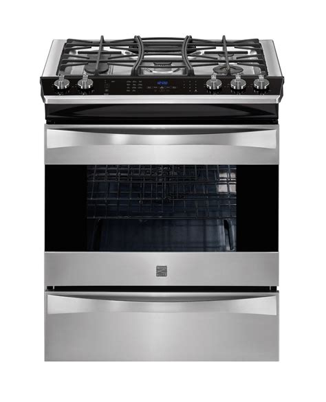 Kenmore Stove by June 2013 Stainless Steel Gas Range