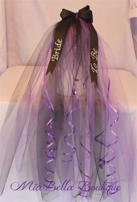 bachelorette veil tiara bridal shower veil to be