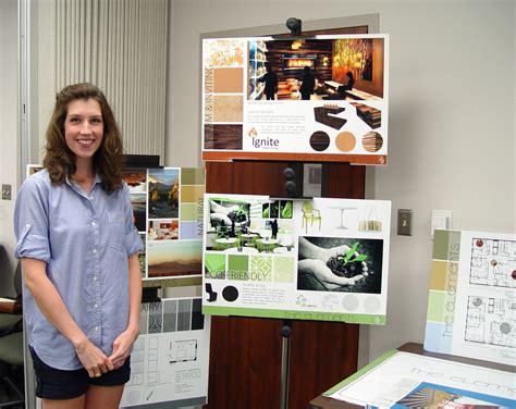 interior design senior capstone projects