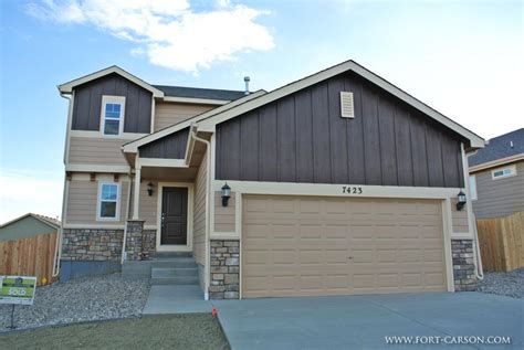ft carson housing fort carson new homes for sale