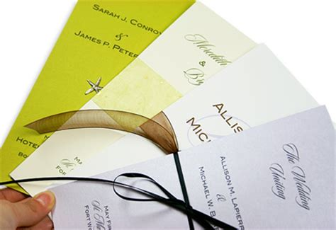 Tri Fold Program Paper - trifold invitation paper wedding program papers