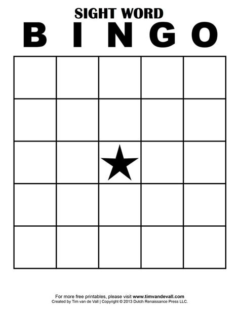 how to make bingo cards with words 25 best ideas about sight word bingo on