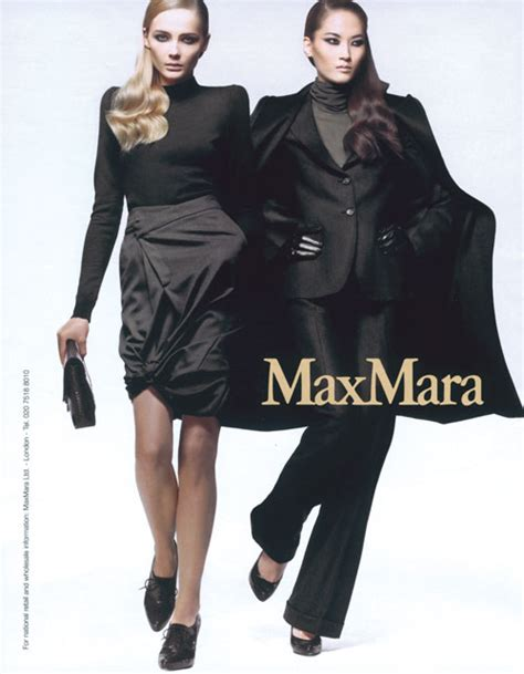 Donaldson Modelling For Max Maras 2008 Advertising Caign by Hye And Snejana Max Mara Power Of The Minute