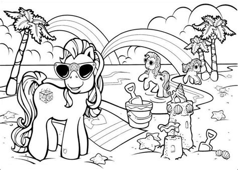 preschool vacation coloring pages beach color page coloring home