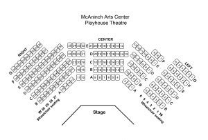 Playhouse Theatre Mcaninch Arts Center Choir Seating Chart Template