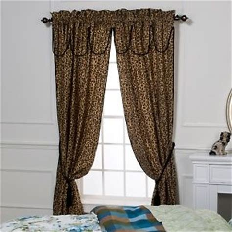 Leopard Curtains My Room Pinterest Sexy Animals And Rod Pocket Curtains