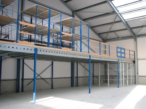 Barns With Living Quarters Floor Plans by Mezzanine Floor System Europe Racking