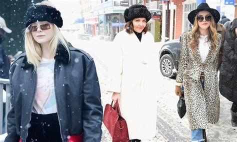 Chic And Food At Sundance by Make Snow Look Chic In Glamorous At