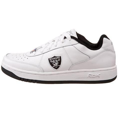raiders sneakers reebok s oakland raiders nfl recline athletic shoes