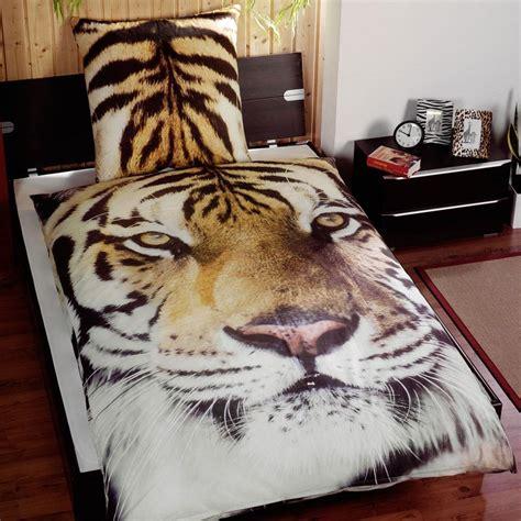 Tiger Quilt Cover by Tiger Animal Print Duvet Cover Set New Ebay