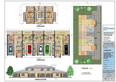 duplex townhouse floor plans duplex and townhouse plans home builders brisbane
