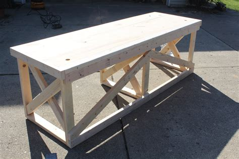 how to make a trestle desk how to build this trestle desk from scrap lumber