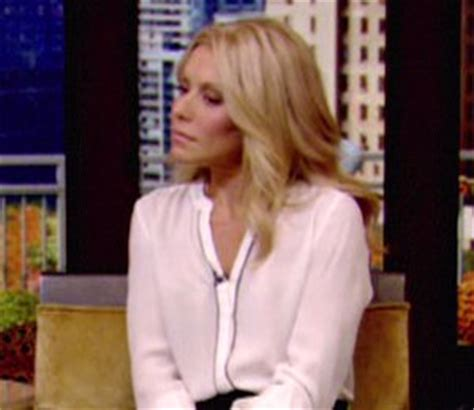 shoo used by kelly rippa shop kelly ripa alc blouse flared skirt live with