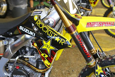 rockstar motocross boots rockstar energy suzuki vital mx pit bits hangtown