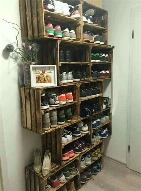 unique closet shoe rack ideas best 25 shoe storage