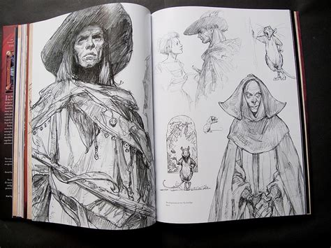 sketch book character 73 best images about iain mccaig on