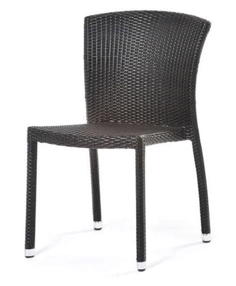 sedie intrecciate sedia in pvc intrecciato economica per esterni idfdesign