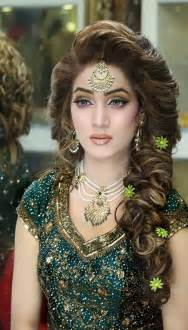 Stylish Bridal Mehndi Hairstyles For Ultimate Traditional