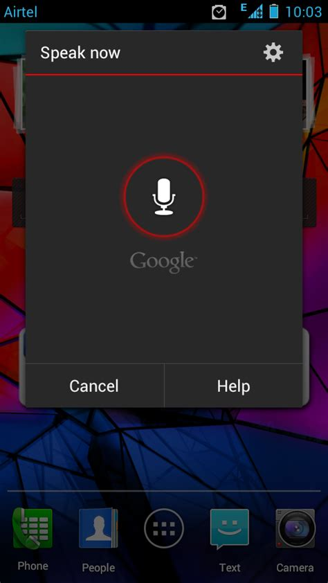 android voice recognition speak and enter text through voice input in android phone android advices