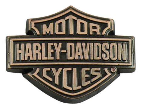 Harley Davidson Shield by Harley Davidson Copper Bar Shield Logo Pin 1 5 X 1 Inch