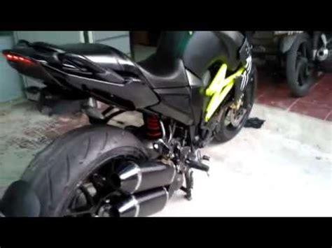 Knalpot Racing Yamaha Byson Akrapovic Layang Carbon Fullsystem yamaha fz 16 byson akrapovic exhaust funnydog tv