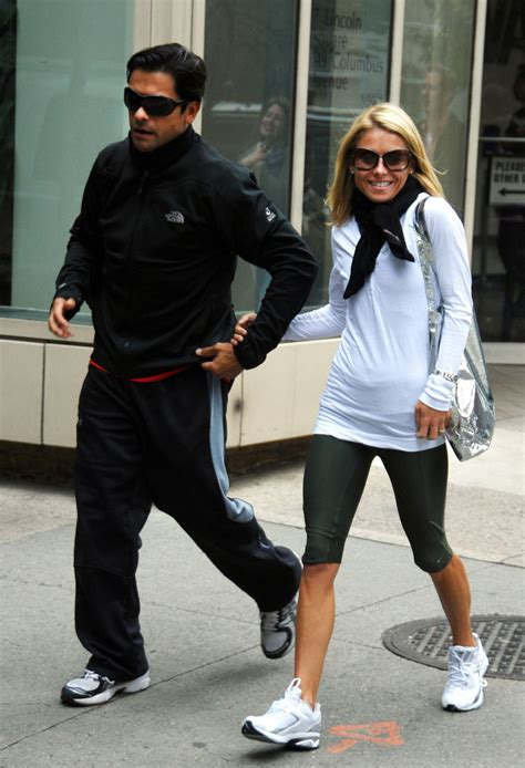 where did kelly ripa move to in nyc kelly ripa husband leaving a gym in new york city zimbio