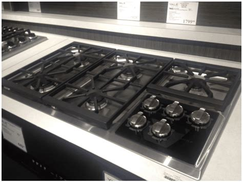 cooktops gas reviews thermador vs wolf gas cooktops reviews ratings