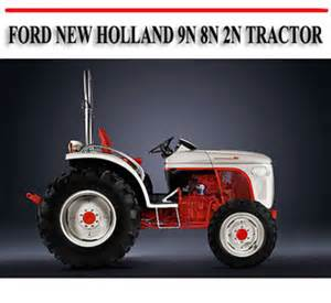 ford new 9n 8n 2n tractor repair manual