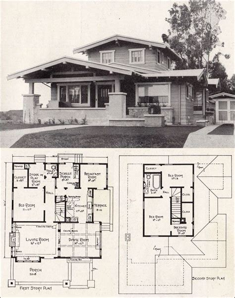 avalon 1923 sears kit houses california bungalow 879 best images about craftsman homes on pinterest
