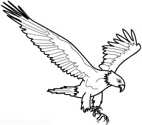Free Coloring Pages Of E Is For Eagle Eagle Coloring Page