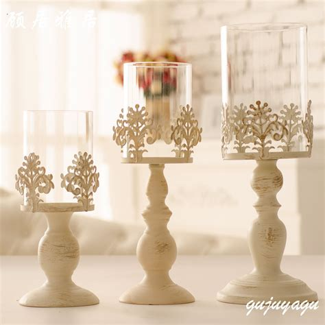 glass table centerpieces glass iron candle holders candelabra centerpieces wedding