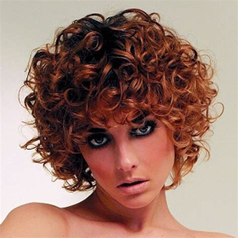 short permanent curl hairstyles 2018 permed hairstyles for short hair best 32 curly