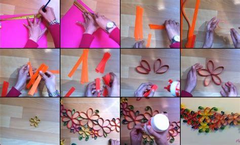 tutorial membuat bunga dari kertas lipat cara membuat hiasan dinding kamar dari kertas origami