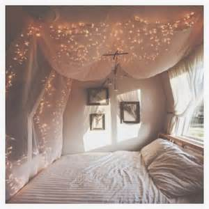 How To Put Curtains On A Canopy Bed tumblr room decor trusper