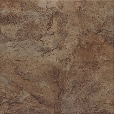shop style selections canyon espresso porcelain floor and wall tile common 13 in x 13 in