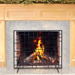 Summer Fireplace Screens by Pilgrim 39 X 31 Black Summer Fireplace