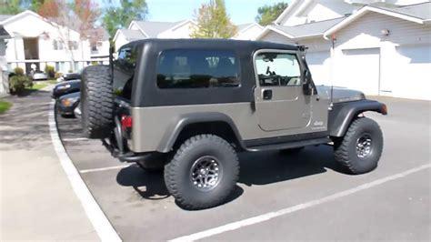 2006 Jeep Wrangler Rubicon Unlimited Lj Youtube