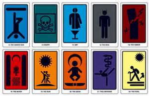 modern traffic sign tarot deck boing boing