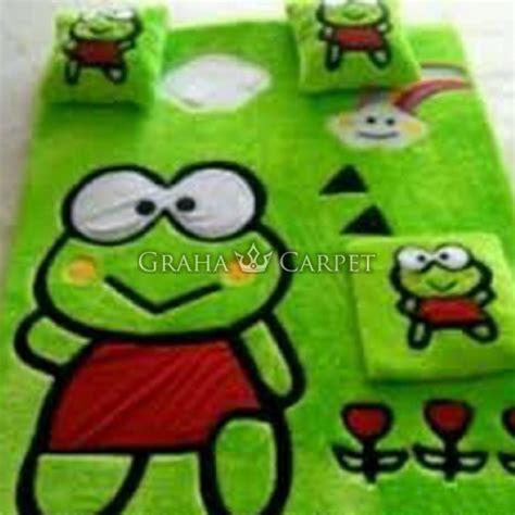 Karpet Karakter Jakarta Barat jual grosir karpet karakter karpet kero kero keroppi