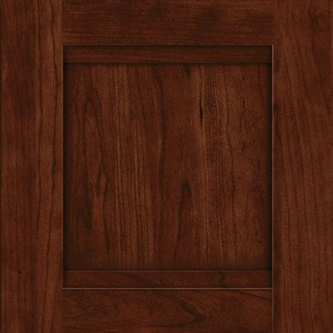 kraftmaid kitchen cabinet doors shop kraftmaid sonata cherry kaffe 15 in x 15 in kaffe