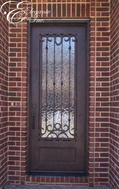 custom wrought iron front door iron front door iron