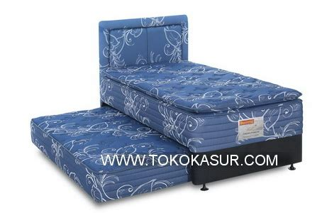 Ranjang Besi 160x200 2in1 master pillowtop toko kasur bed murah simpati furniture