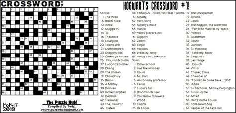 actor who plays aquaman crossword clue the puzzle hub fof crossword hogwarts crossword 1