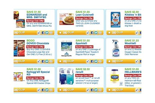 online free coupons for grocery