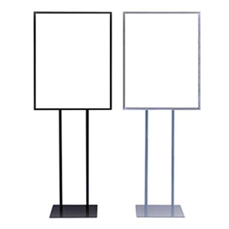 sign stands 22 quot x 28 quot economy sign stand sign anatomy